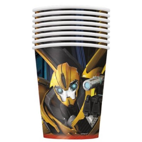 Unique Transformers Prime Birthday Party 9oz. Hot/Cold Paper Cups - 8 per package