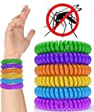 iCooker Mosquito Repellent Bracelet Band [12 Pack] - 320Hrs of...