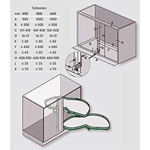 Ikea Variera Waste Sorting Bin ~ LeMans Eckschrank Schwenkauszug Für 60cm Türbreite, Rechts Amazon