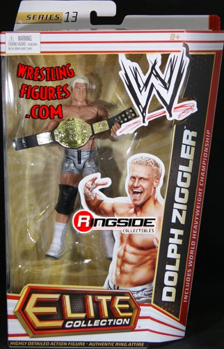 Dolph Ziggler Elite 13 Wwe Toy Wrestling Action Figure