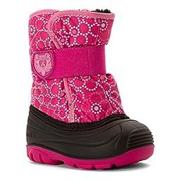 Kamik Snowbug4 Snow Boot (Toddler), Magenta/Pink, 9 M US Toddler