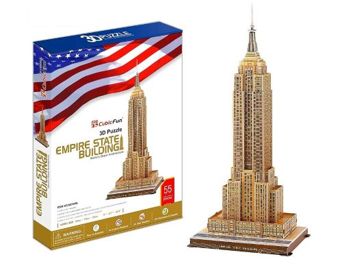 Cubic Fun 3D Puzzle Empire State Building
