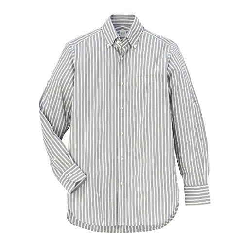 タケオキクチ(TAKEO KIKUCHI) 【ON/OFF兼用】シャツ(カラーロンドンストライプシャツ)【312グレー/M】
