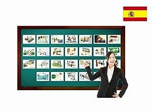 Amazon.com: Tarjetas de vocabulario - Ubicaciones - Spanish Locations