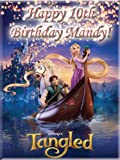 Single Source Party Supply - Tangled Edible Icing Image #1-8.0 x 10.5