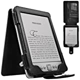 CaseCrown Regal Flip Vertical Case (Black) for Amazon Kindle 4 e-Reader (4th generation)