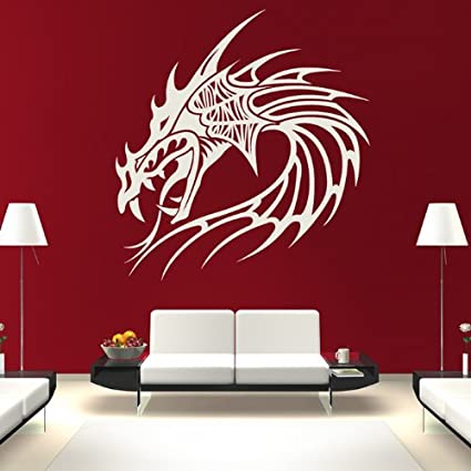 Beautiful Dragon Wall Decals: Easy To Apply and Remove