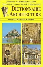 Dictionnaire d'architecture
