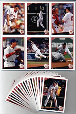 2009 Topps Baseball Boston Red Sox Team Set (24 cards)