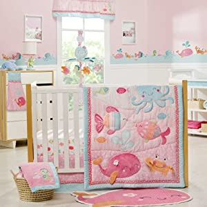 Under the Sea 5 Piece Baby Crib Bedding Set with Bumper by Carters