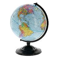 12″ Globe With Blue Ocean Shading – E…