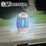 Emerson Indoor/Outdoor Cordless Rechargeable Bug Zapper ~ Emerson
