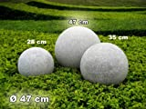 Kugelleuchte Gartenkugel GlowGranite Ø 47cm 10222
