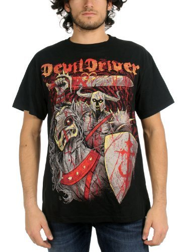 DevilDriver - Uomo Knight T-Shirt in Nero, XX-Large, Nero