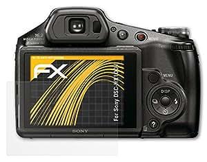 3 x atFoliX Film Protection d'Écran Sony DSC-HX100V - FX-Antireflex anti-reflet