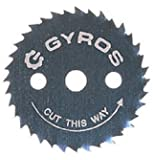 """Gyros 81-31222 Ripsaw Blade, 1-1/4"""" Dia. For Dremel Type Tools"""