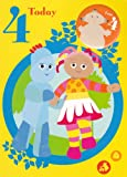 In the Night Garden - Age 4 Birthday Card With Badge - 4th