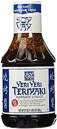 Soy Vay Veri Veri Teriyaki Marinade and Sauce, 21oz, 3 Pack