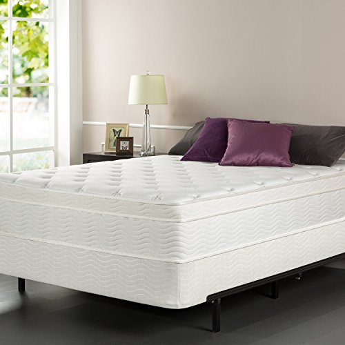Sleep Master iCoil 13 Inch Euro Top Spring Mattress and BiFold Box