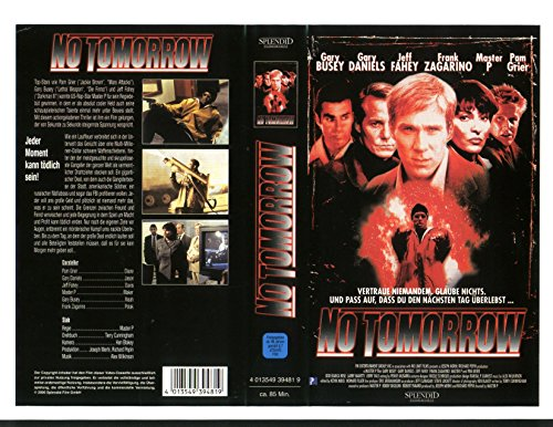 No Tomorrow [VHS]