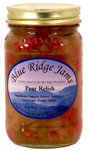 Pear Relish, Set of 3 (16 oz Jars)