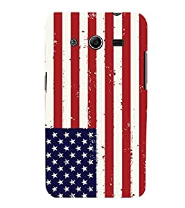 printtech Country Flag Back Case Cover for Samsung Galaxy Core 2 G355H