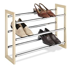 Click Here For good Size Whitmor 6026-2516 Stackable Expandable Shoe Rack