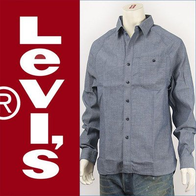 (リーバイス) Levi's モダン ワークシャツ シャンブレー インディゴ Red Tab Shirt 70403-0003 長袖