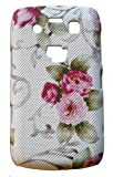 Xtra-Funky Exclusive Floral Print Rubbery Textured Hard Plastic Case for Blackberry Bold 9700/9780