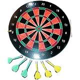 Nifty Games Magnetic Dart Board - 16 In Diameter