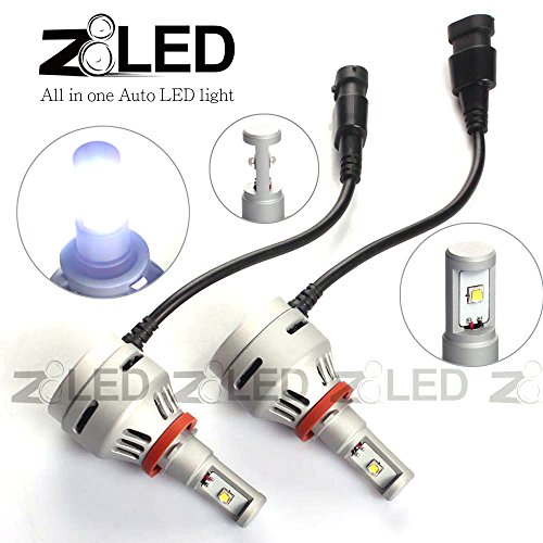 Z8 2X New Direct Plug Error Free Led H11 4000Lm Head Light Fog Lamp Cree Xm 2L Chip All In One Z8Led 3Gh116000K