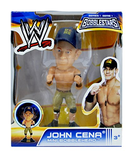 "WWE 3.5"" Bobble Head Figures- John Cena - 1"