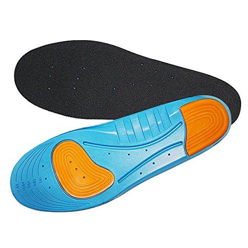 Aodoor Sport Soletta, Solette Ammortizzanti, Solette Traspiranti, Solette ortopediche Sole Control Sprint Sports per la corsa L 30.5cm (41-45 EU)