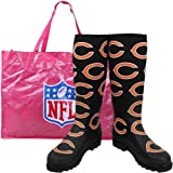 Cuce Shoes Chicago Bears Women's Enthusiast Rain Boot 9 at Amazon.com