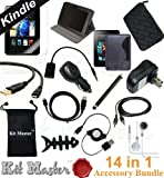 KitMaster® 14-Item Accessory Bundle for Amazon Kindle Fire HD 7