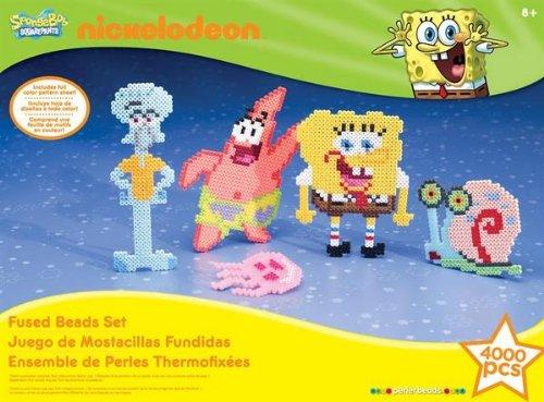 Perler Nickelodeon Fuse Bead Value Activity Kit-SpongeBob
