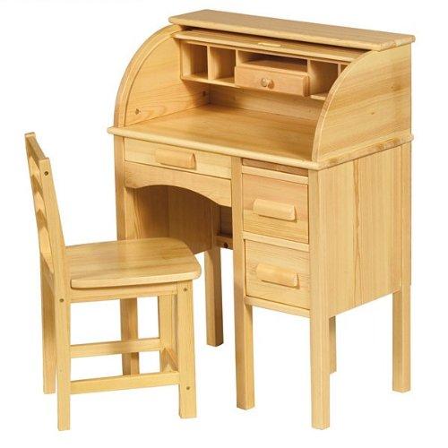 Guidecraft Jr. Roll Top Desk - Natural