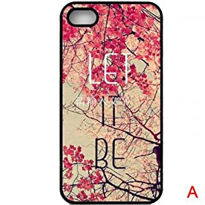 K9D Hot Sale New Style Retro Patterned Vintage Aztec Geometric Tribal Floral Flower Hard Quote Case Back Cover Protector For iPhone 4 4G 4S Style A & With a Nice Gift