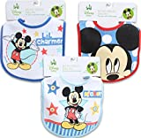 Mickey Mouse Baby Bib Set Of 6
