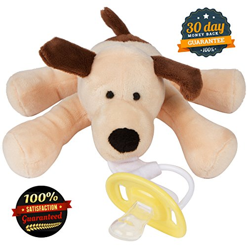 Baby Pacifier Holder Cuddly Soft Fun Your Baby Will Love This