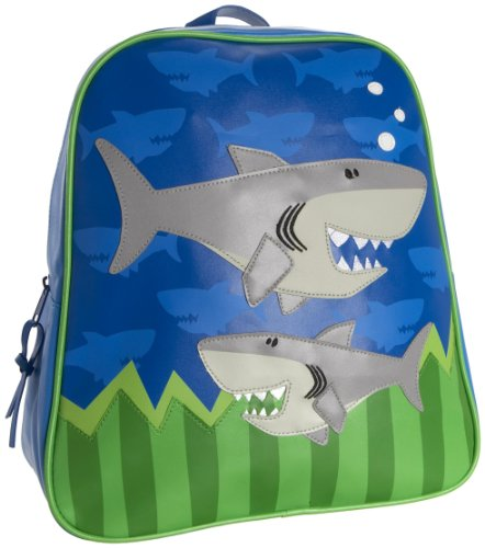 Stephen Joseph Little Boys' Boy'S Go-Go Bag, Shark, One Size