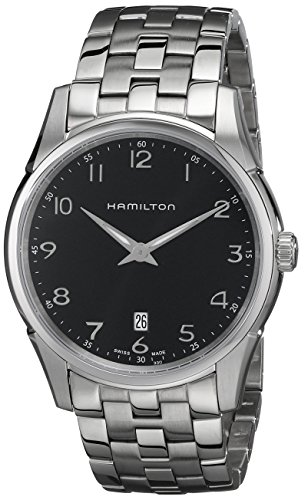 HAMILTON HAMILTON JAZZMASTER THINLINE H38511133 GENTS STEEL BRACELET DATE WATCH