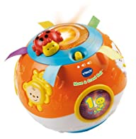 VTech Move and Crawl Baby Ball, Orang…