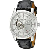 Lucien Piccard Men's LP-40006M-02S Morgana Analog Display Black Watch