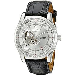 Lucien Piccard Men's LP-40006M-02S Morgana Analog Display Black Watch