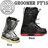 15-16 THIRTYTWO サーティーツー ブーツ メンズ GROOMER FT '15 32 スノーボード ブーツ 熱成型対応 正規品 (BLACK, 25.5)