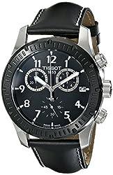 Tissot Men's T0394172605700 Analog Display Swiss Quartz Black Watch