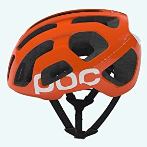 poc casco zink orange large 56-62