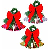 Impact Innovations3940ADouble Bell Holiday Decoration-DOUBLE BELLS