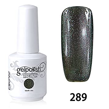 b4f7e14aa544    Elite99 Vernis A Ongles Gel UV Soak Off Base Top Nail Art Semi-Permanent  Manucure 15ml 289 - ionuamab-42